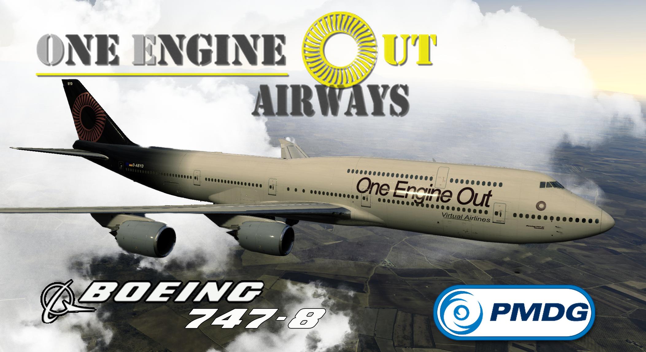 PMDG 747-8 OEO