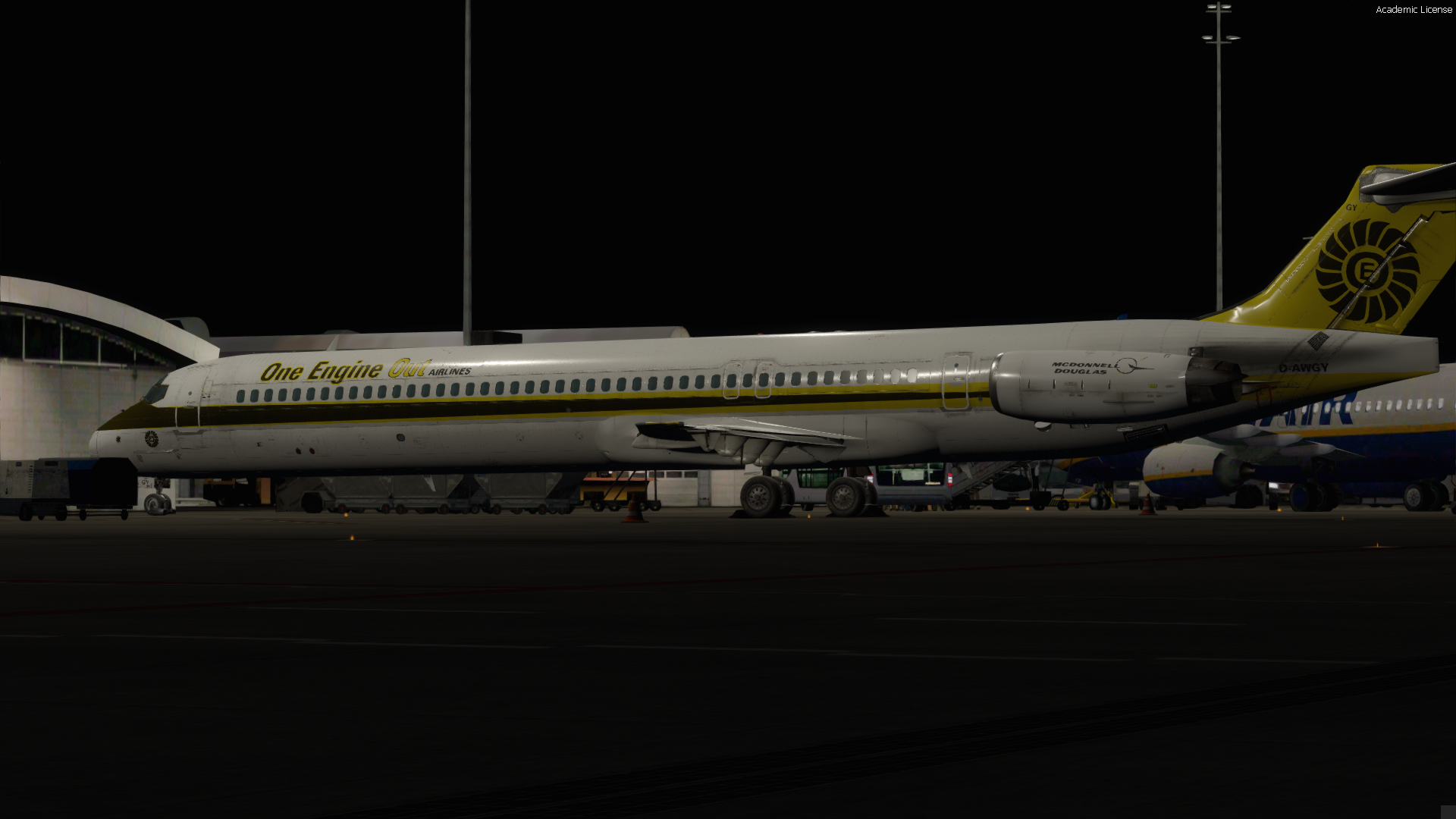 MD83 PBR Version D-AWGY