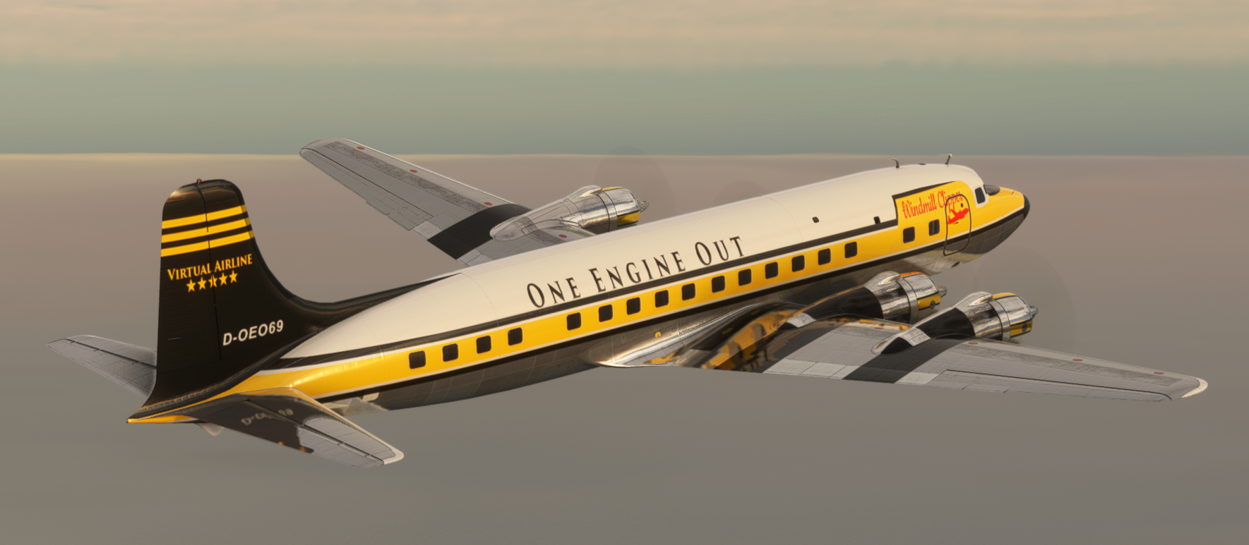 MSFS DC6 OEO-Livery by Eternal
