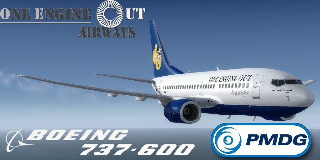 PMDG 737-600NGX OEO Select
