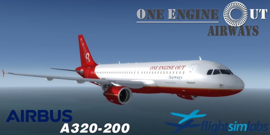 FSLabs A320X Prepar3D v4.1 OEO Liverypack