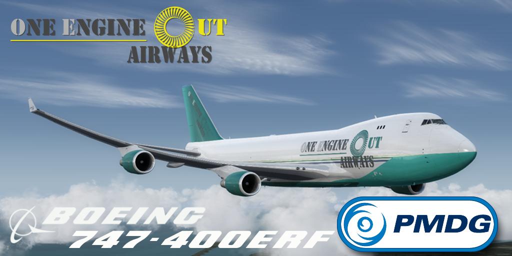 PMDG 747-400ERF Cargo Liverypack